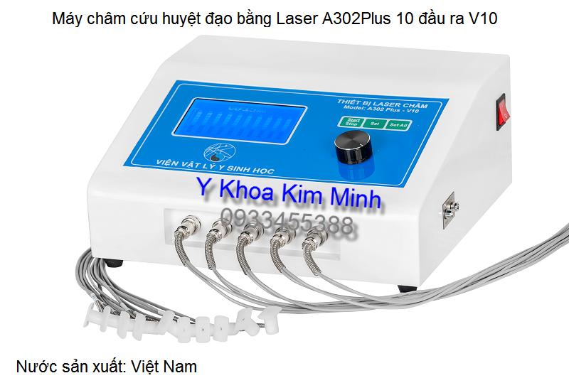 Thiết bị châm cứu huyệt đạo bằng laser A302Plus V10