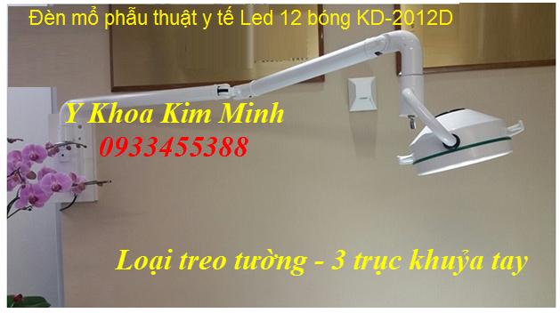 Đèn mổ y tế Led 12 bóng KD-2012D