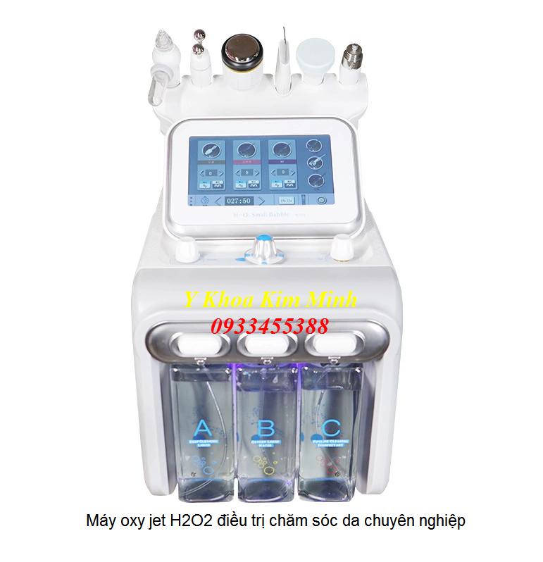Máy oxy jet H2O2 chăm sóc da chuyên nghiệp