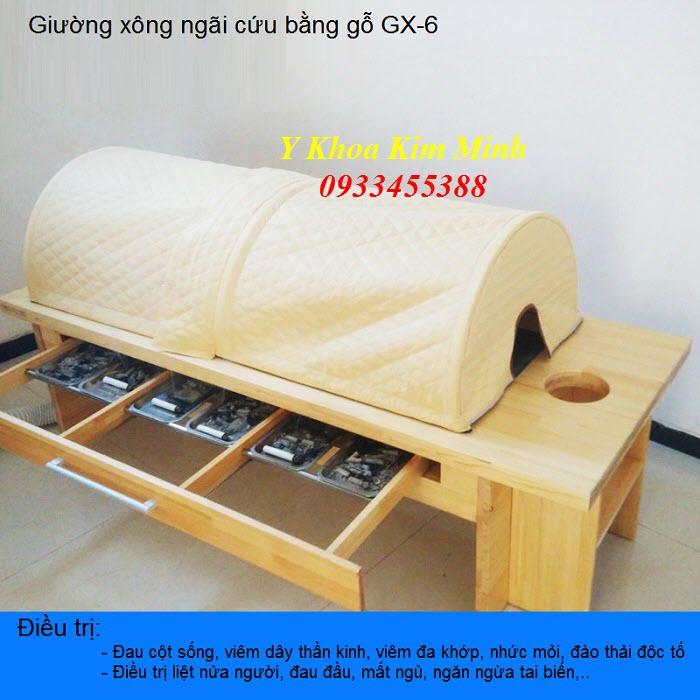 Giường xông ngãi cứu toàn thân GX-06