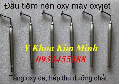 Đầu tiêm nén oxy máy oxyjet thẩm mỹ