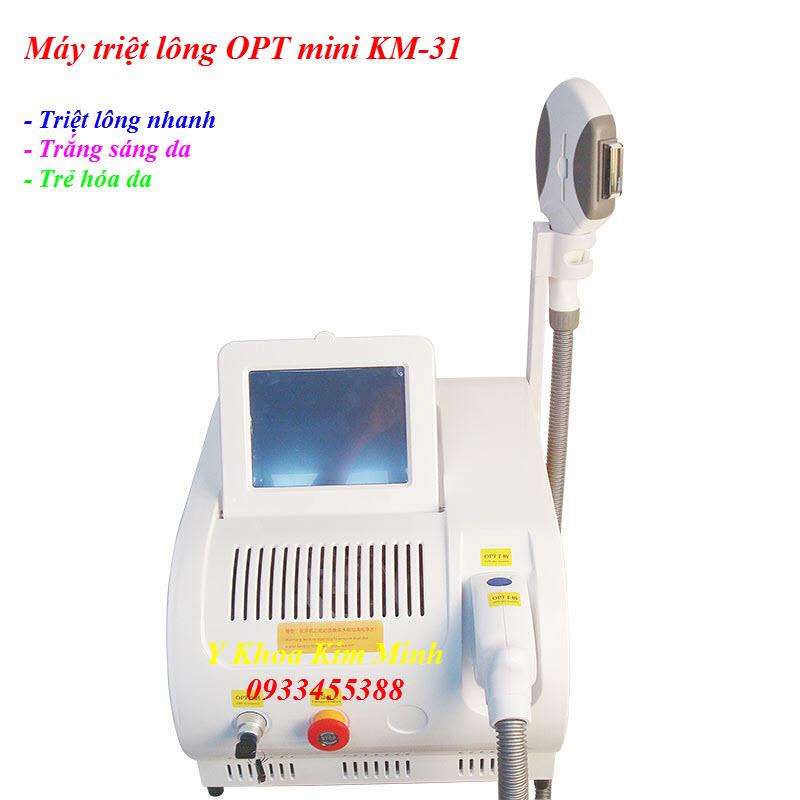 Máy triệt lông OPT mini KM-31