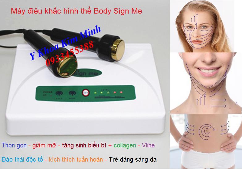 Máy điêu khắc hình thể body Sign Me