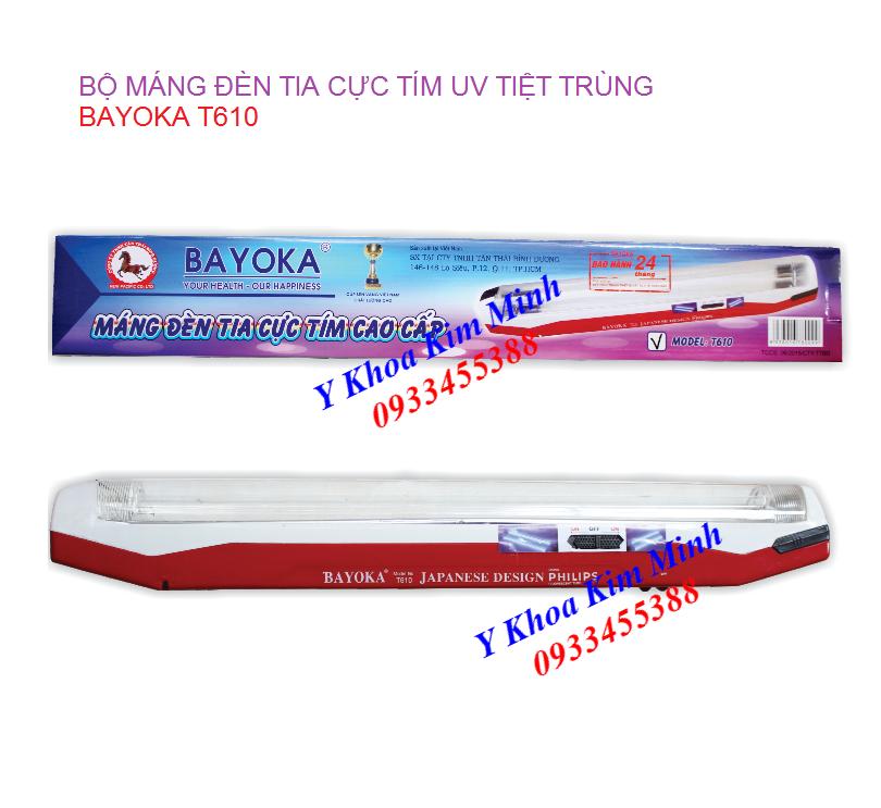 Đèn UV cực tím tiệt trùng Bayoka T610