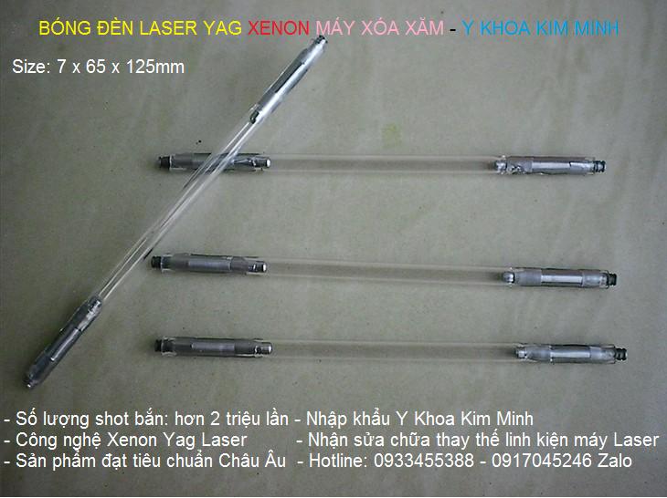Bóng đèn Laser Yag Xenon 7x65x125mm