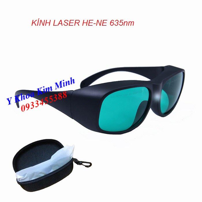 Kính laser He Ne 635nm