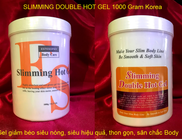 Gel massage giảm mỡ Slimming Double Hot Gel