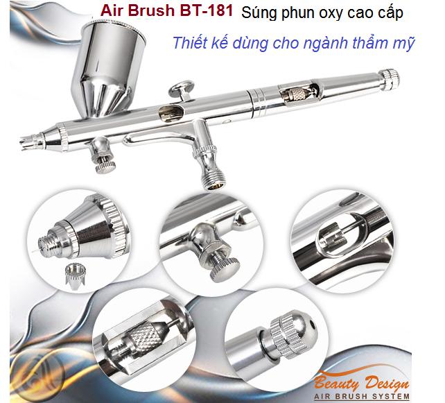 BT-181 Air Brush súng phun oxy nén cao cấp