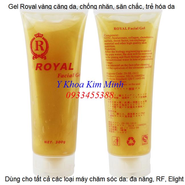 Gel Royal vàng căng da chống nhăn săn chắc