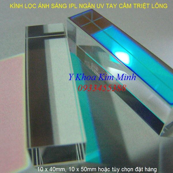 Kính lọc ánh sáng IPL ngăn tia UV máy triệt lông