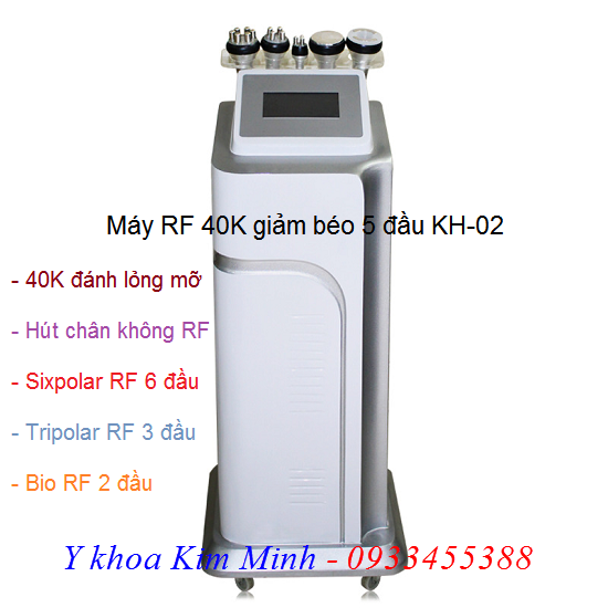 Máy làm thon gọn eo bụng giảm béo 40K RF KH-02
