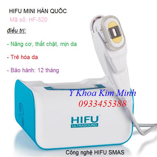 Máy Hifu mini Hàn Quốc HF-520