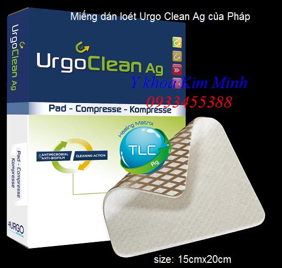 Miếng dán loét Urgo Clean Ag 15x20cm