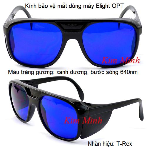 Kính bảo vệ mắt 640nm dùng máy Elight OPT T-Rex