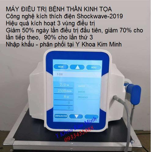 Máy điều trị bệnh thần kinh tọa Shockwave-2019