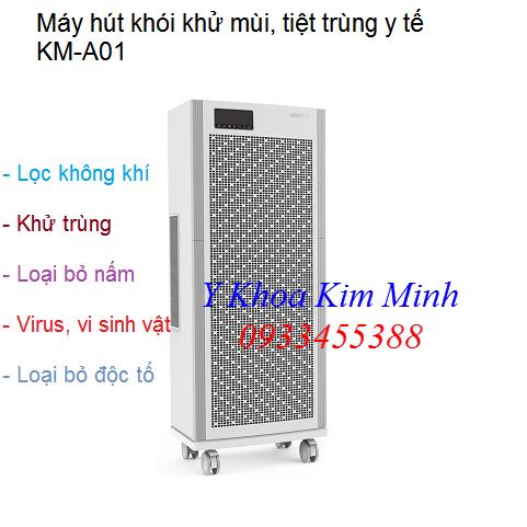 Máy hút khói khử mùi vô trùng y tế KM-A01