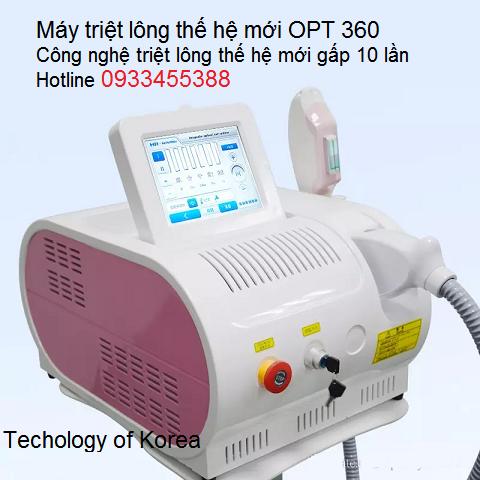 Máy triệt lông OPT 360 thế hệ mới