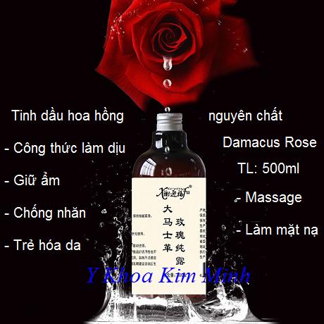 Tinh chất hoa hồng chăm sóc da mặt 500ml