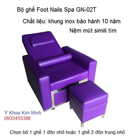 Bộ ghế Foot Nail Spa GN-02T