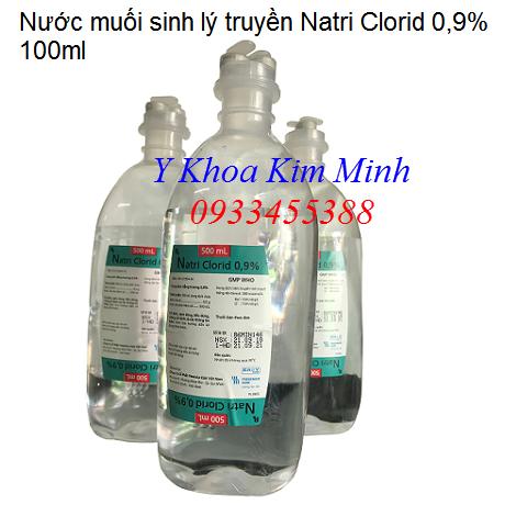 Nước muối truyền Natri Clorid 0.9