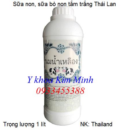 Sữa non tắm trắng Thái Lan 1 lít