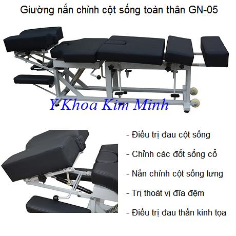 Giường nắn chỉnh cột sống toàn thân GN-05