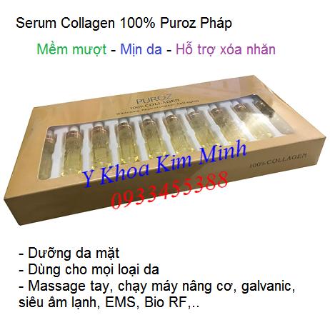Serum Collagen 100% Puroz Pháp