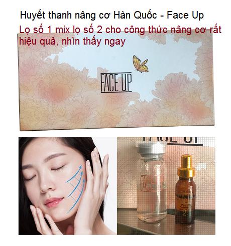 Face up huyết thanh nâng cơ số 1 Hàn Quốc