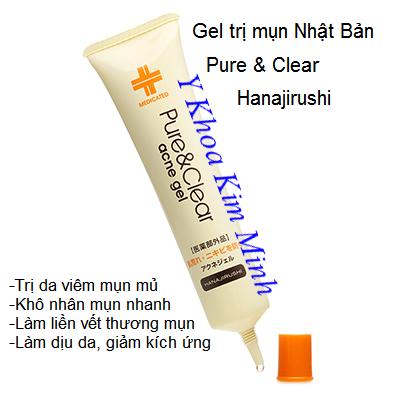 Gel điều trị mụn Pure & Clear Nhật Bản