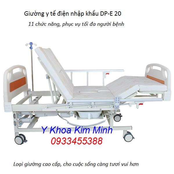 Giường y tế điện nhập khẩu 11 chức năng DP-E20