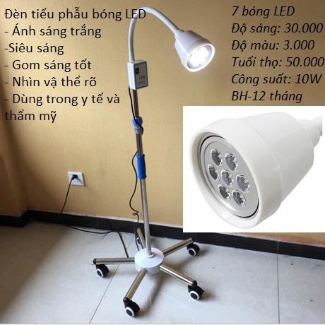 Đèn tiểu phẩu y tế 7 bóng LED Kim Minh