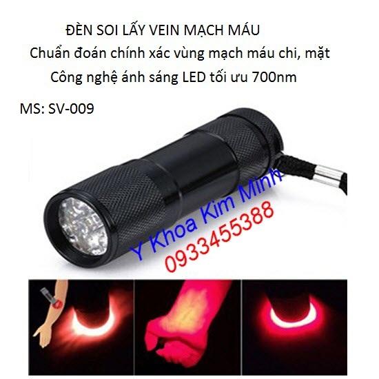 Đèn soi lấy vein tĩnh mạch LED SV-009