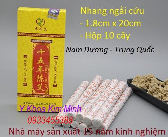 Nhang ngải cứu Nam Duong 1.8x20cm