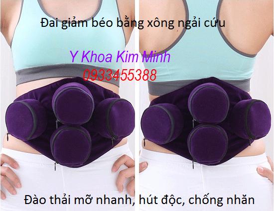 Đai quấn giảm béo bằng ngải cứu DN-04