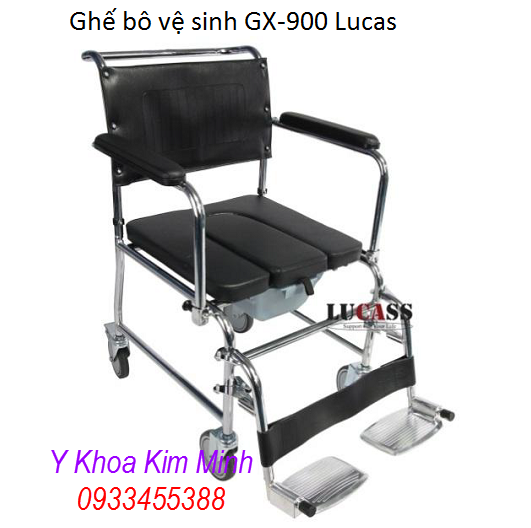 Ghế bô vệ sinh y tế GX-900 Lucas