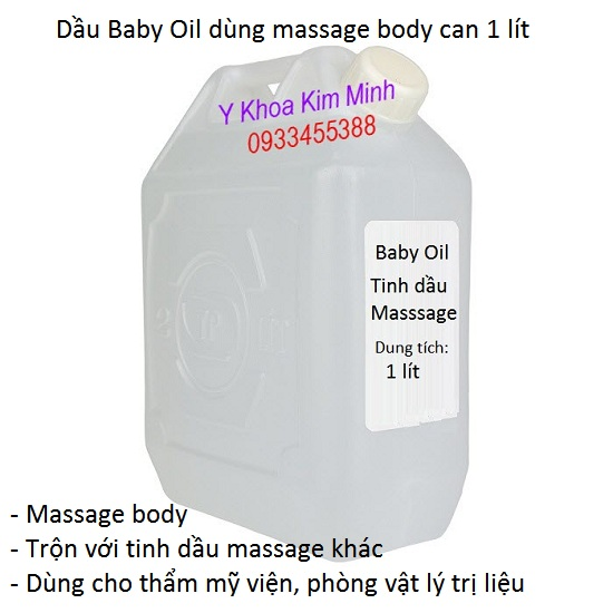 Dầu baby oil massage 1 lít