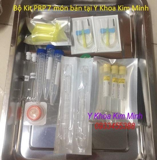 Bộ Kit PRP 7 món bán tại Y khoa Kim Minh