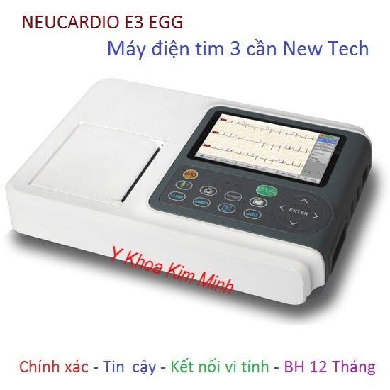 Máy điện tim Neu Cardio E3 New Tech