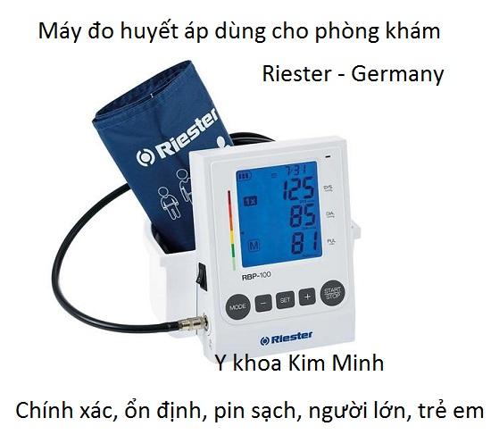 Máy đo huyết áp phòng khám Riester người lớn trẻ em