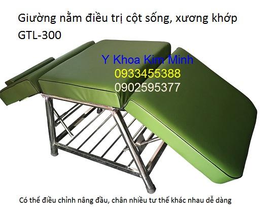 Giường nằm điều trị cột sống, xương khớp GTL-300