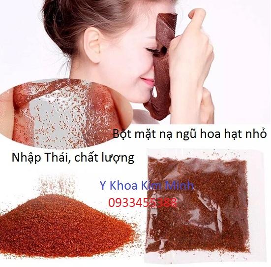 Bột mặt nạ ngũ hoa hạt nhỏ nhập khẩu Thái Lan