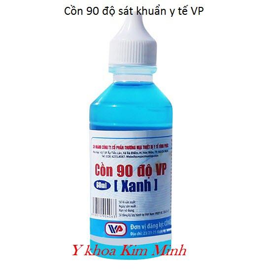 Cồn xanh 90 độ VP sát khuẩn y tế
