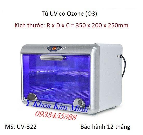 Tủ tiệt trùng UV-322 dùng cho y tế thẩm mỹ