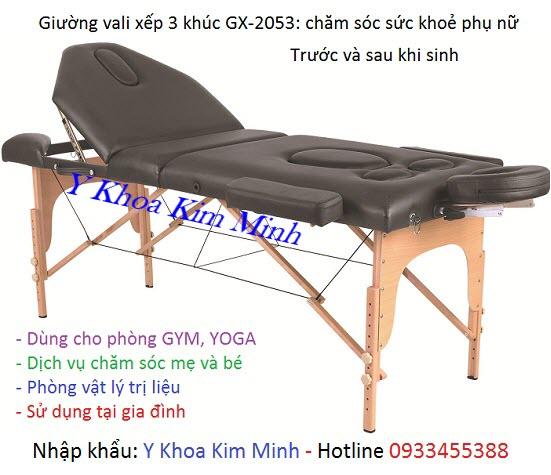 Giường massage chăm sóc phụ nữ trước và sau khi sinh GX-2053