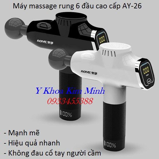Máy massage trị đau cơ khớp huyệt đạo AY-26