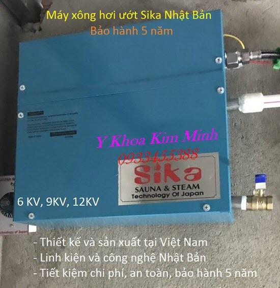 Máy xông hơi ướt Sika Nhật Bản bán tại Y Khoa Kim Minh