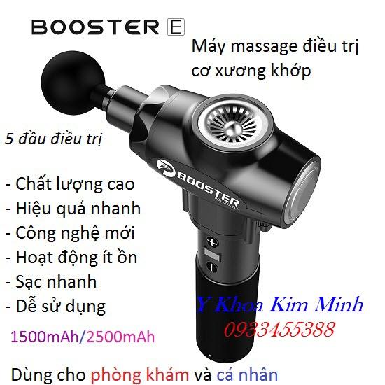 Máy Booster điều trị cơ xương khớp 5 đầu