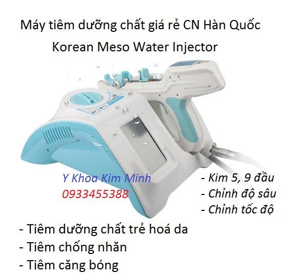 Máy tiêm dưỡng chất truyền trắng da Meso Water Injector
