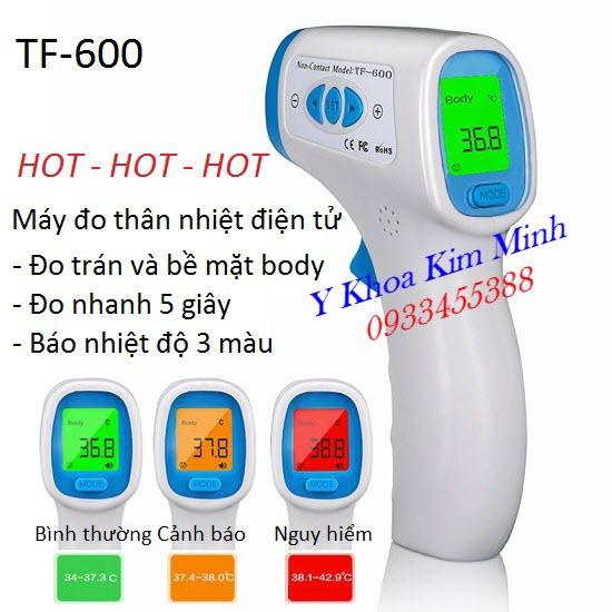 Máy đo thân nhiệt điện tử trán body TF-600