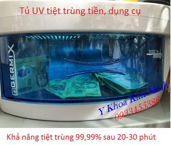 Tủ UV tiệt trùng tiền mặt diệt virus 99,99% Cermix